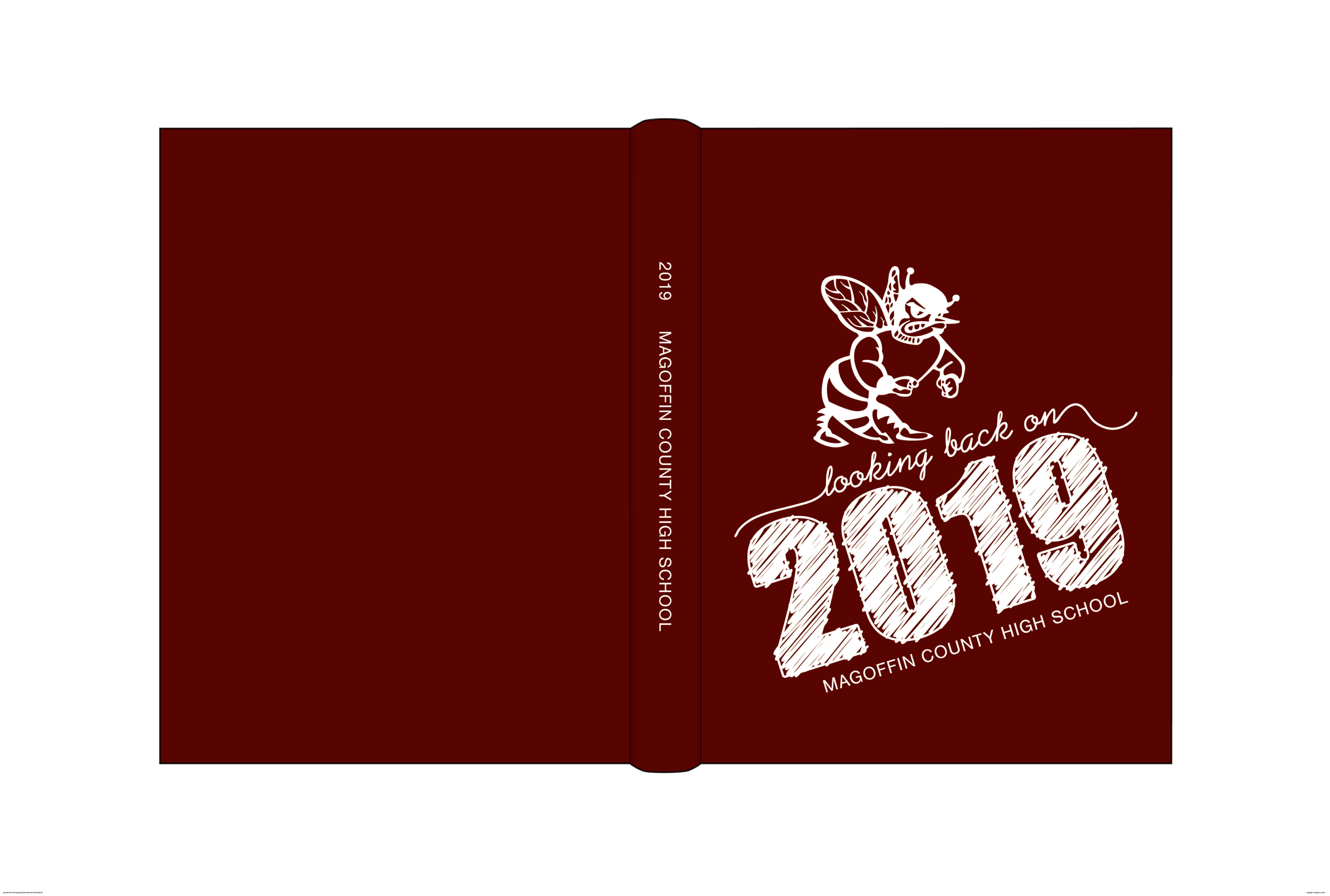 2019 MCHS Yearbook Cover