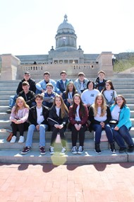 Magoffin County JAG Members visit Frankfort
