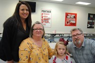 Grandparents Have Breakfast with Headstart students