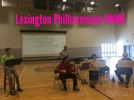 Lexington Philharmonic visited North Magoffin Elementary