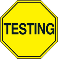 Testing Stop Sign