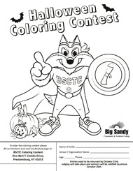 Big Sandy College Coloring Contest