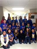 The Salyersville Grade School Academic Team recently competed in the Kentucky Colonels' 6th Grade Showcase.