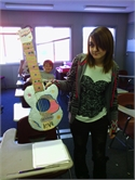 HWMS Students Create Musical Instruments