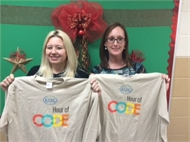 "Students in Magoffin County Schools Learn ""An Hour of Code."""
