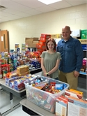 Salyersville Grade School Helped High School Junior Collect for Backpack Program