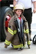 The Salyersville Fire Department Visits SGS Headstart