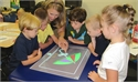 NME Kindergarten Enjoys The Smart Table