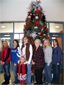 Volunteers Get In the Christmas Spirit