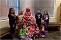 Book Tree Ornament Contest at North Magoffin Elementary Library