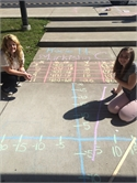 HWMS Takes Math Outside Of The Classroom