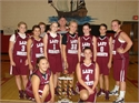 HWMS Lady Hornets Capture Second Tournament Title