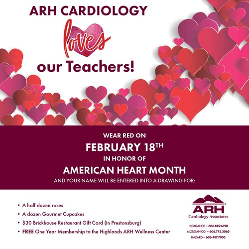 ARH CARDIOLOGY LOVES TEACHERS