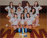 HWMS Cheerleaders Attend U.C.A. Camp at U.K.