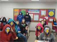 Middle School Students Have EAGLE FEVER