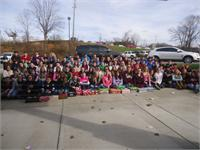 HWMS CYC Club Participates In Operation Christmas Child