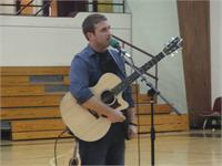 Kyle Douglas Performs For Magoffin Students