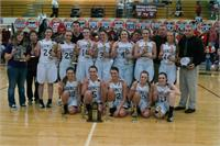 Lady Hornets Are 57th District Champions!