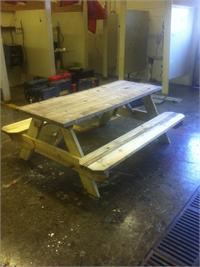 MCHS FFA Are Now Taking Orders For Solid Wood Picnic Tables