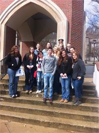 Art Students Visit Morehead State University