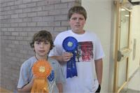 County Winners in 4-H Forestry Contest