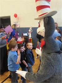 The Cat in the Hat Visits South Magoffin Elementary