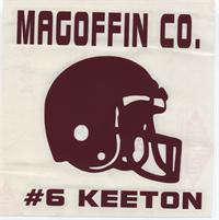 MCHS Football Boosters Are Selling Window Stickers