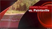 HWMS Football Game with Paintsville Now on YouTube