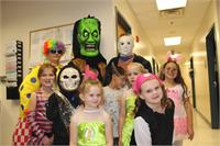 Students and staff at SGS have a terrific time at the annual Halloween Costume Dance.