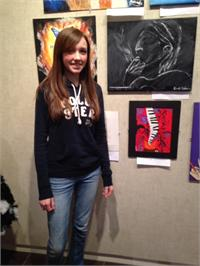 MCHS Advanced Art Students Attend High School Art Day at MSU