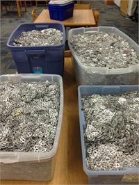 South Magoffin Students Collect Tabs for the Ronald McDonald House