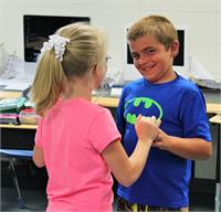 South Magoffin Elementary Students Prepare for Heritage Days