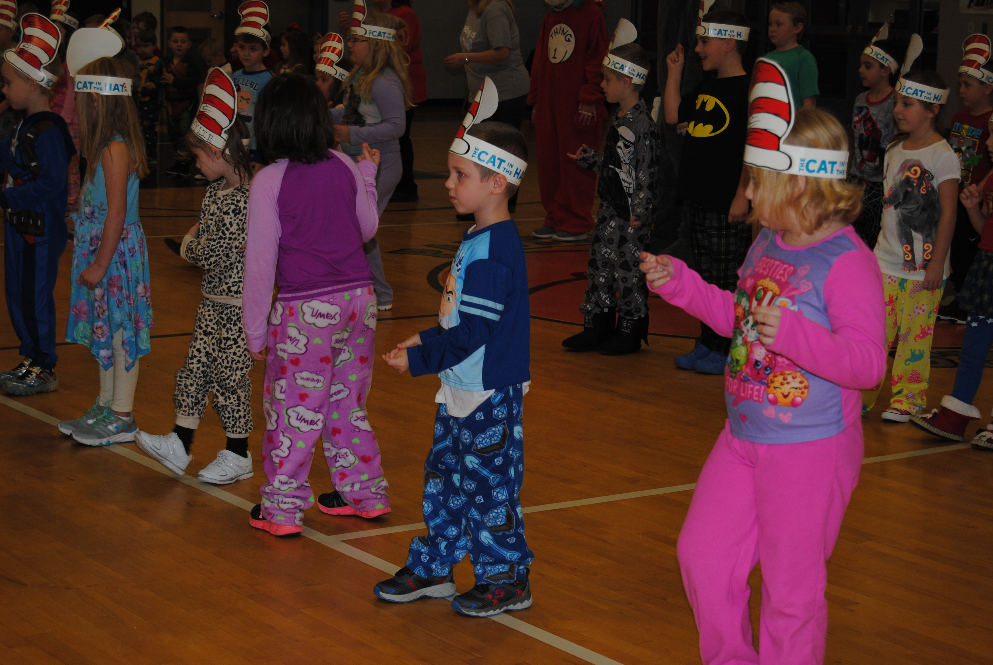 Students celebrate Dr. Seuss' Birthday